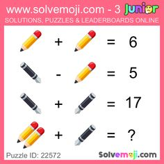 Solvemoji - Free teaching resources - Emoji math puzzle, great as a primary math starter, or to give your brain an emoji game workout. Teamwork Activities, Dementia Activities, Physical Activities, Activities For Kids, Elderly Activities, Physical Education, Math Puzzles Brain Teasers, Maths Puzzles, Free Teaching Resources