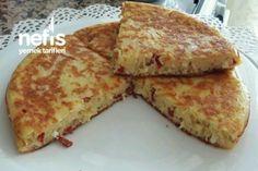 Yufkasız Kahvaltılık Börek Tarifi French Toast, Healthy Recipes, Cheese, Keto, Breakfast, Food, Recipes, House, Ideas