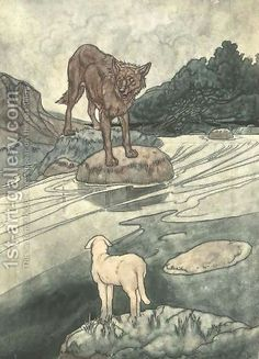 The Wolf And The Lamb - Aesop Fables