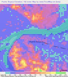 boyaca colombia map puerto boyaca colombia