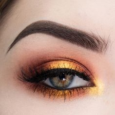 a fiery, sunset-y halo [eotd] with MUG foiled shadows...CCW! - Imgur