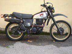 My moto...Yamaha XT 500