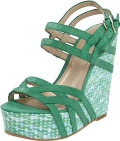 Nine West Women's Bardough Wedge Sandal  $99