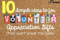 Classroom volunteers deserve every ounce of appreciation we can lavish on them. These are some simple and affordable gift ideas (and a DIY gift idea) to show your appreciation to your classroom volunteers. Also included is a FREE 'Thanks a Latte' gift tag Volunteer Appreciation Gifts, Volunteer Gifts, Volunteer Ideas, Employee Appreciation, Volunteer Week, Thank You Volunteers, Parent Volunteers, Parent Gifts, Teacher Gifts
