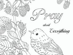 Birds - Google Drive Free Printable Coloring Pages, Adult Coloring Pages, Bible Verse Coloring Page, Addams Family Characters, Fairy Coloring, Colouring, Printable Bible Verses, Kids Church, Google Drive
