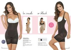 THERMAL BODY SHAPER THONG//PANTY MID-COMPRESSION FAJA TERMICA COCOON COLOMBIANA