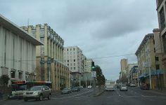 Driving thru San Francisco to golden gate bridge