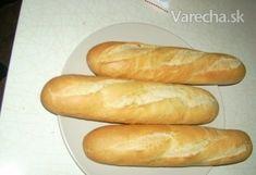 Domáce bagety - recept | Varecha.sk Hot Dog Buns, Hot Dogs, 20 Min, Bread Rolls, Rolls Recipe, Baking, Album, Food, Salt