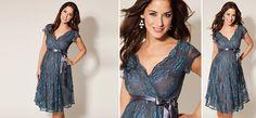 Eden Kleid blau aus der Kategorie Festliche Umstandsmode von Mamarella - Details