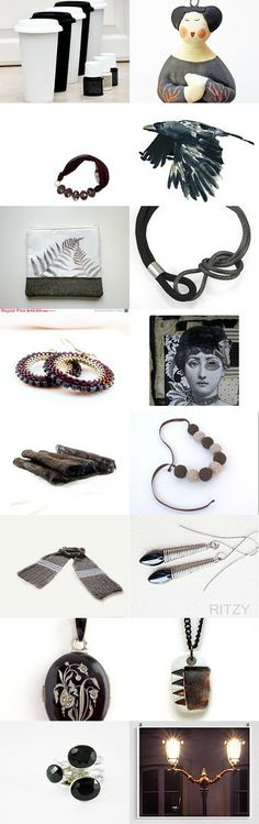 Black finds by Tubidu on Etsy--Pinned with TreasuryPin.com