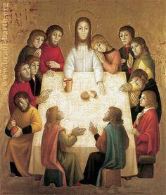 Nel quinto Mistero della Luce si contempla... l' istituzione dell'Eucaristia nell' Ultima Cena. Bradi-Barth