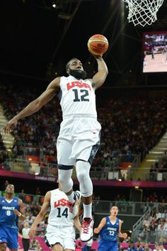 e2fa812dfcf9 James Harden dunks on ALL OF FRANCE