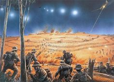 Attack on a Fire Base in Nam.