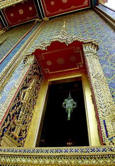 Culture Of Thailand, Gates, Doors, Sculpture, Sculptures, Sculpting, Statue, Carving, Gate