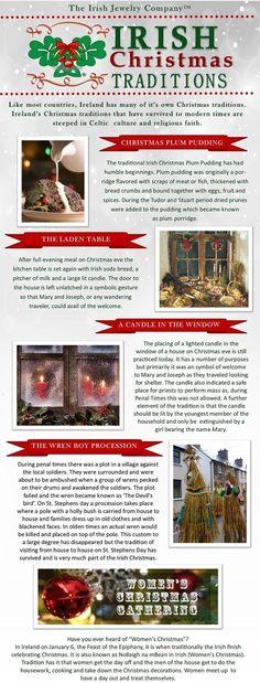 Irish Christmas traditions from Ireland – christmas decorations Christmas In Ireland, Celtic Christmas, Winter Christmas, Christmas Holidays, Christmas Crafts, Christmas Decorations, Christmas Ideas, Christmas Images, Christmas Activities