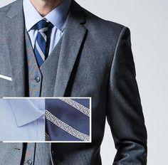 1001 ideen thema grauer anzug welches hemd passt dazu graue anz ge hemden und anz ge. Black Bedroom Furniture Sets. Home Design Ideas