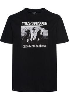 TITUS Dresden---Check-your-Hood - titus-shop.com  #TShirt #MenClothing #titus #titusskateshop
