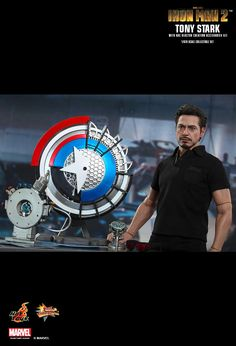 Hot Toys : Iron Man 2 - Tony Stark with Arc Reactor Creation Accessories 1/6th scale Collectible Set