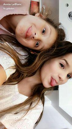Annie and Hayley Leblanc ~ Love these cuties~ Bratayley ❤