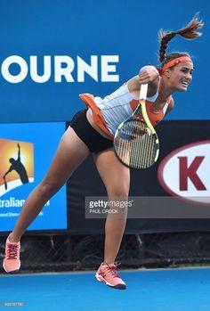Monica Puig, Wta Tennis, Sport Tennis, Athletic Models, Athletic Women, New Girl, Australian Tennis, All Body Workout, Venus And Serena Williams