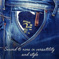 Slightly rugged, slightly edgy. But, it always has a cool casual vibe! #Spykar #Denim  #jeans #Style #Fashion