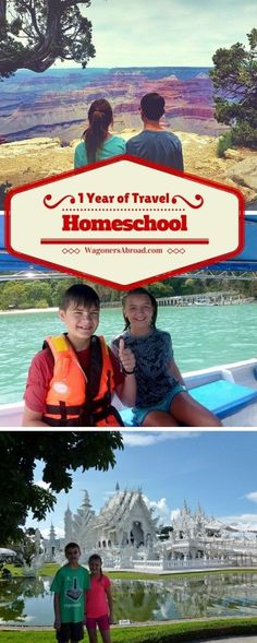 1 year of educational travel and homeschool.  Read more on WagonersAbroad.com