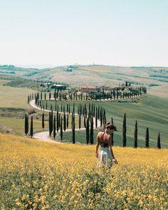 Asciano, Tuscany