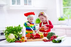 Healthy Cooking with Kids – Cook Smarts Easy Meals For Kids, Kids Meals, Baby Meals, Baby Foods, Healthy Kids, Healthy Cooking, Healthy Eating, Stay Healthy, Healthy Habits