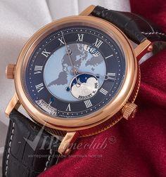 Реплика часов Breguet Classique 5717 Hora Mundi, купить в интернет магазине viptimeclub.ru. Каталог цен на реплики часов с отзывами