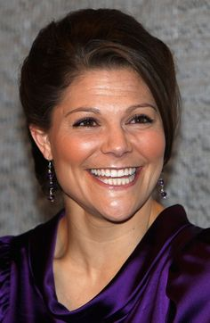 Princess Victoria Photos - HRH Crown Princess Victoria of Sweden laughs as she attends the 'Exploring A New Identity' Swedish Fashion event at the Design And Textile Museum on February 5, 2009 in London, England. (Photo by Chris Jackson/Getty Images) * Local Caption * Princess Victoria of Sweden - Swedish Fashion: Exploring A New Identity - Gala Opening
