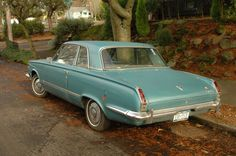 1964 Plymouth Valiant  I had a lot of fun driving this car.
