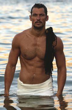 Perché il modello britannico David Gandy è l'uomo più caldo del pianeta | DailyTelegraph