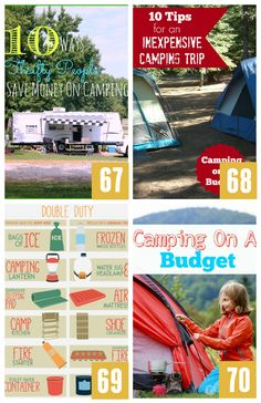 Camping Ideas on a Budget