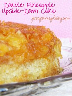 Double Pineapple Upside-Down Cake… I had never thought much about this cake until a couple of summers ago when visiting my grandparents in Montana for the fourth of July. One of my aunts brought a cake from Costco… a Pineapple Upside-Down Cake. At first, I wasn't even tempted. For some reason, this cake has …