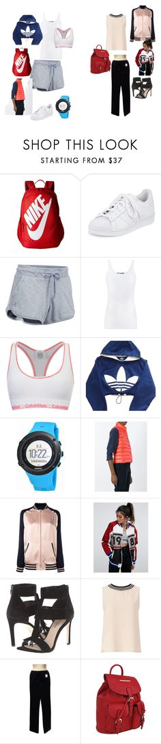 Sport/Sport Chic by tancho-cts on Polyvore featuring мода, Miss Selfridge, Vince, adidas, Moncler, Yves Saint Laurent, ASOS, Chanel, Under Armour and Calvin Klein