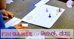 games for French class Games and acvities for French teachers - Find engaging resources and fun ideas for teaching foreign languageGames and acvities for French teachers - Find engaging resources and fun ideas for teaching foreign language High School French, French Class, Core French, French Language Lessons, French Lessons, French Teacher, Teaching French, Motivational Activities, French Flashcards