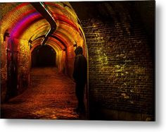Trajectum Lumen Project. Ganzenmarkt Tunnel 9. Netherlands Metal Print by Jenny Rainbow. All metal prints are professionally printed, packaged, and shipped within 3 - 4 business days and delivered ready-to-hang on your wall. Choose from multiple sizes and mounting options. Art Prints For Home, Home Art, Fine Art Prints, Framed Prints, Poster Prints, Fine Art Photography, Travel Photography, Amsterdam Holland, Night Photos