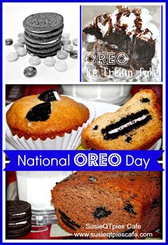 National Oreo Day Recipes & Craft from SusieQTpies Cafe