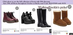 #discount #boots #shein #30%off