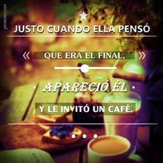 el amor y mi café