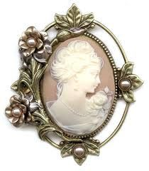 Shop for Sweet Romance Victorian Vintage Wedding Flower Cameo Pin Brooch. Get free delivery On EVERYTHING* Overstock - Your Online Jewelry Shop! Victorian Jewelry, Antique Jewelry, Vintage Jewelry, Vintage Pins, Vintage Brooches, Vintage Stil, Looks Vintage, I Love Jewelry, Jewelry Design