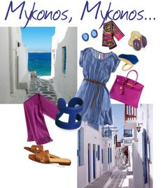 """Mikonos"" by marcellakretsch on Polyvore"