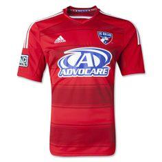 0e94452e2 FC Dallas 2014 Primary Soccer Jersey