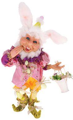 Mark Roberts elf Mark Roberts Elves, Mark Roberts Fairies, Easter Bunny, Easter Eggs, Elves And Fairies, Egg Hunt, Tinkerbell, Holiday Fun, Fairy