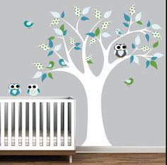 Arvores na decoração do Quarto do seu filho - Dicas pra Mamãe