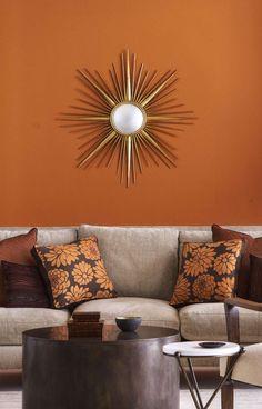 Burnt orange Dining Room Best Of 14 Best Shades Of orange top orange Paint Colors Burnt Orange Paint, Orange Paint Colors, Room Paint Colors, Orange Walls, Paint Colors For Living Room, Orange Color, Rust Color, Orange Painted Rooms, Orange Bathroom Paint