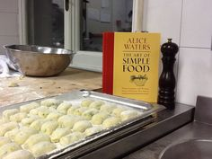 THE ART OF SIMPLE FOOD BY ALICE WATERS  You can buy this during Pasta Book Presentation Saturday November 23 at AARome with all proceeds going to support the Rome Sustainable Food Project. Events calendar on www.aarome.org