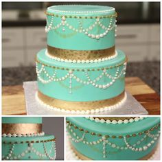 Cake Stenciling Collage