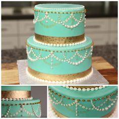 Cake Stenciling Collage