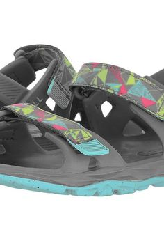 Merrell Kids Hydro Drift (Toddler/Little Kid/Big Kid) (Grey/Multi) Girls Shoes - Merrell Kids, Hydro Drift (Toddler/Little Kid/Big Kid), MY56494-060, Footwear Open Casual Sandal, Casual Sandal, Open Footwear, Footwear, Shoes, Gift, - Fashion Ideas To Inspire